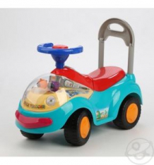 Купить каталка детская tolocar, цвет: светло-голубой ( id 104718 )