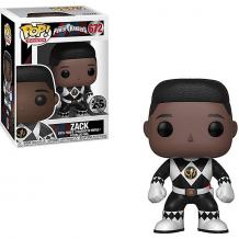 """Купить фигурка funko pop! vinyl: """"могучие рейнджеры"""" чёрный рейнджер зак без шлема, 32808 ( id 13152465 )"""