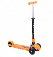 Купить самокат leader kids qqbear, цвет: оранжевый ( id 4711699 )