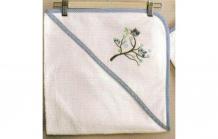 Купить kidboo комплект полотенце-уголок + варежка sweet home