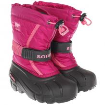 Купить детский sorel childrens flurry deep blush tropic pink фиолетовый ( id 1189721 )