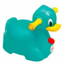 Купить горшок ok baby quack, бирюзовый ok baby 997044210