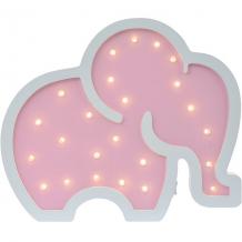 Купить светильник настенный ночной лучик «слоник», розовый ( id 12370850 )