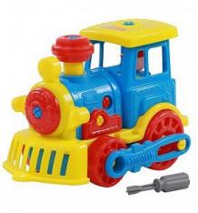 Купить конструктор полесье паровоз синий ( id 9885786 )