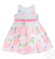 Купить платье малинка, цвет: розовый/белый ( id 10324229 )