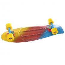 Купить скейт мини круизер penny nickel ltd canary fade 7.5 x 27 (68.6 см) голубой,желтый,красный