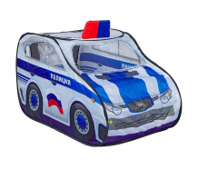 Купить yako солнечное лето игровой домик палатка-полицейская машина ф85770