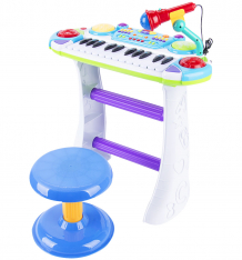 Купить игруша пианино синее ibb335bd
