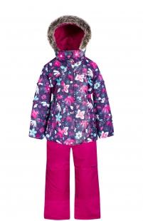 Купить комплект куртка/полукомбинезон zingaro by gusti, цвет: синий ( id 6494155 )