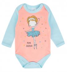 Купить боди newborn балерины, цвет: голубой/розовый ( id 9968826 )