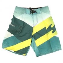 Шорты пляжные детские Billabong Slice Boy 17.5 Hydro зеленый,желтый ( ID 1146648 )
