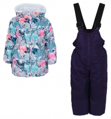 Купить комплект куртка/комбинезон bony kids, цвет: фиолетовый 5675