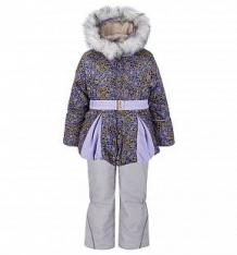 Купить комплект куртка/полукомбинезон ursindo, цвет: розовый/сиреневый ( id 3739790 )