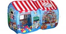 Купить babyone игровая палатка детский магазин свн-15 + 100 шаров cbh-15