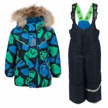 Купить комплект куртка/полукомбинезон stella's kids pinguins, цвет: зеленый ( id 11263724 )