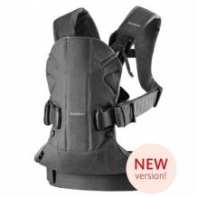 Купить рюкзак-переноска babybjorn one soft cotton dark grey, серый babybjorn 996965950