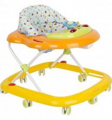 Купить ходунки capella bg-0611, цвет: оранжевый/голубой ( id 140448 )