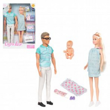 Купить набор кукол defa в голубом с аксессуаром 28 см ( id 12046768 )