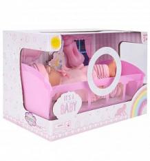 Купить кукла игруша розовая в наборе с аксессуарами 27 см ( id 6475741 )