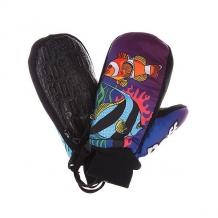 Купить варежки сноубордические детские neff youth under ocean мультиколор ( id 1108134 )