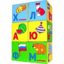 Мягкие кубики Мякиши Азбука в картинках ( ID 222289 )