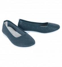 Купить туфли twins, цвет: синий ( id 9524145 )