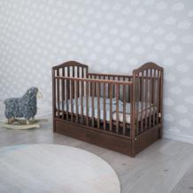 Кроватка-маятник Papaloni Винни, 120х60 см, цвет: орех Papaloni 996738752