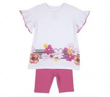 Купить chicco комплект для девочек туника и шорты 09076326 09076326