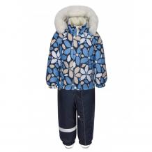 Купить kisu комбинезон для девочки зимний w19-20601 w19-20601