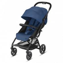 Купить коляска прогулочная cybex eezy s+ 2 blk navy blue с бампером и дождевиком, синий cybex 997172586