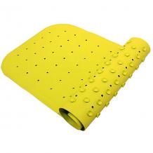 Купить антискользящий коврик для ванны 34,5х76 см, салатовый ( id 4182091 )