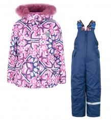 Купить комплект куртка/полукомбинезон stella майолика, цвет: розовый ( id 6613003 )