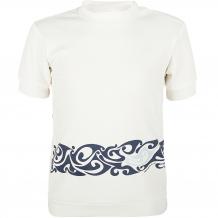 Купить футболка мамуляндия маленькая леди, цвет: белый/синий 1183934