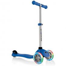 Купить трехколесный самокат globber primo lights, синий ( id 11169730 )