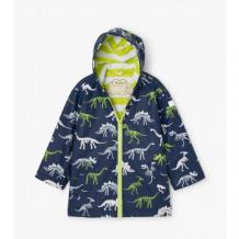 Купить плащ hatley с меняющимся под дождем рисунком, темно-синий mothercare 997176010