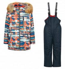 Купить комплект куртка/полукомбинезон ovas каспер, цвет: оранжевый ( id 9936222 )