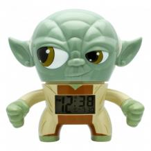Купить часы star wars будильник bulbbotz yoda йода 19 см 2020022