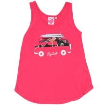 Купить майка детская rip curl floral van tank blogger pink розовый ( id 1204134 )