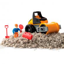 Купить kinetic sand 11303 кинетический песок серия rock 141 грамм, машина, аксессуары