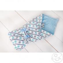 Купить slingme конверт-одеяло капитан 90 х 90 см, цвет: синий ( id 12797824 )