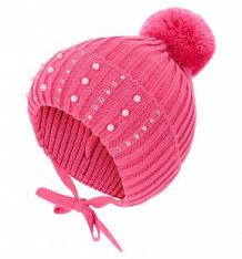 Купить шапка журавлик варя, цвет: малиновый ( id 10401080 )
