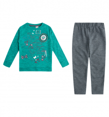 Купить комплект джемпер/брюки bidirik, цвет: зеленый 123