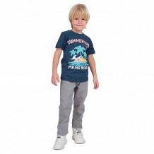 Купить футболка leader kids лови волну, цвет: синий ( id 11315402 )