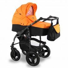 Купить коляска 2 в 1 sevillababy vento, цвет: оранжевый ( id 12647734 )