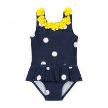 Купить купальник с оборками, темно-синий mothercare 4191092