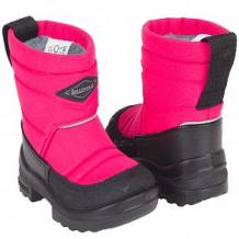 Купить сапоги kuoma putkivarsi pink winter heart, цвет: розовый ( id 9596217 )