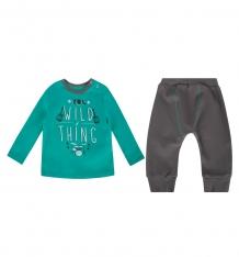 Купить комплект джемпер/брюки bembi, цвет: бирюзовый/серый ( id 9898962 )