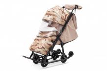 Купить санки-коляска pikate compact military pcm18
