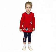 Купить комплект туника/бриджи славита торопыжка, цвет: красный ( id 12294382 )