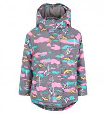 Купить куртка lappi kids, цвет: серый ( id 9712302 )